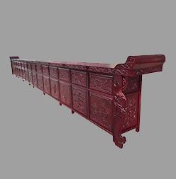 12米长供桌